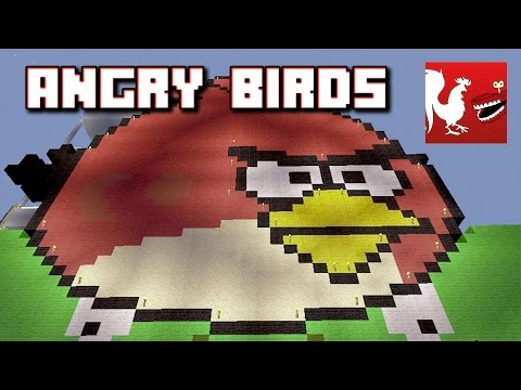 Things to do in Minecraft - Angry Birds