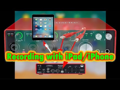 Recording with iPad/IPhone