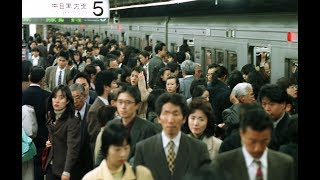 This is what the morning rush hour time looks like in one of Japan's busiest subway station WEB
