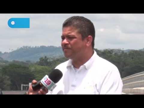 Nicaragua inaugura puente fronterizo con Costa Rica