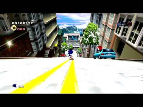 Misc Computer Games - Sonic Adventure 2 Battle - 2 Player Select Screen
