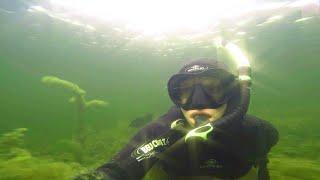 Подводная охота на грани!