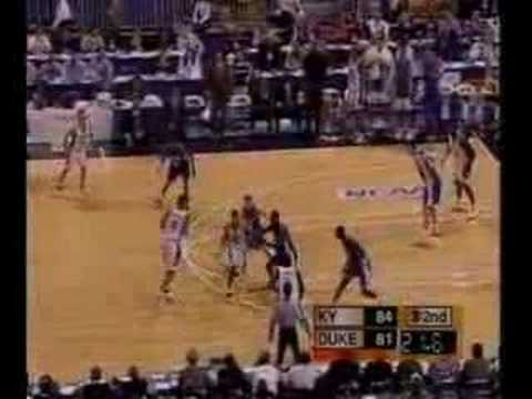 Kentucky Wildcats vs Duke 1998 NCAA Tourney Regional Finals Video