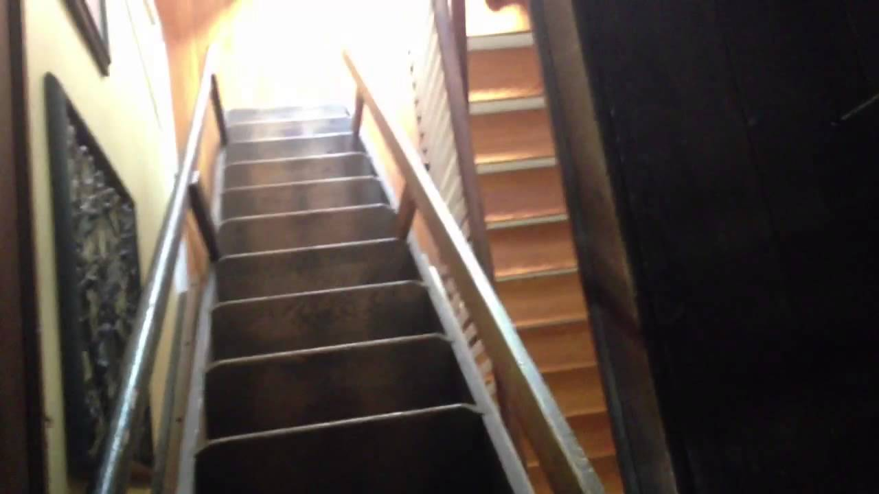 Antique Attic Ladder Antique Attic Stairs My Retractable