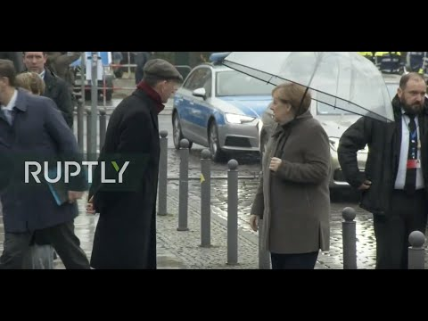 LIVE Merkel and Steinmeier mark 30th anniversary since fall of Berlin Wall