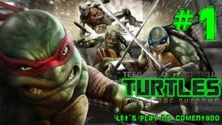 Teenage Mutant Ninja Turtles: Out Of The Shadows Gameplay Español Parte 1 Intro No Comentado