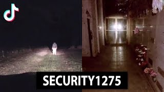 Security Guard Encounters a Haunting
