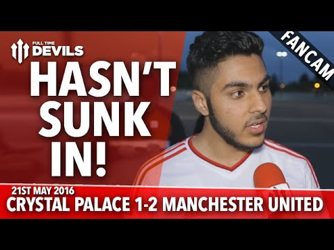 Win Hasn't Sunk In! | Crystal Palace 1-2 Manchester United | FANCAM