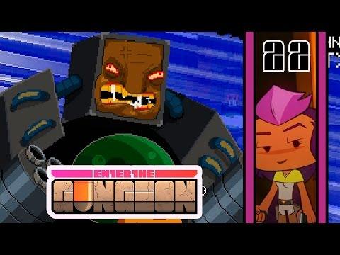 Прохождение Enter the Gungeon #22 - Прошлое Охотницы и радость!