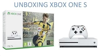 Unboxing Xbox One S 500Gb + Fifa 17 Español
