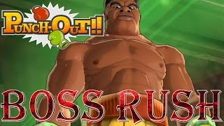 Punch-Out!! Wii - Contender Rush (All Opponents, No Damage)