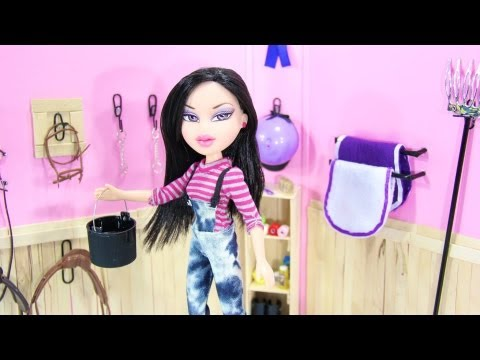 How to Make a Doll Tack Room and Other Horse Stuff