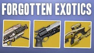 Destiny 1 Exotic Weapons NOT In Destiny 2