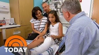 10-Year-Old Girl Who Fought Off Alligator Speaks Out | TODAY