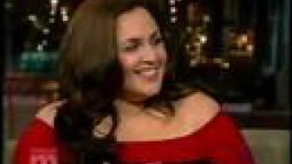 HAIRSPRAY's Nikki Blonsky on Letterman!