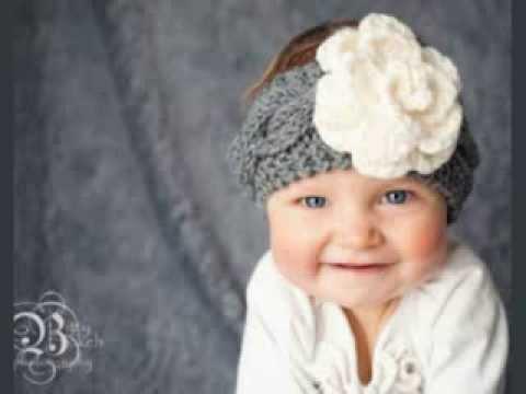 Baby Knit Headband Pattern Free - YouTube