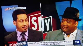 The Biggest C00N In Sports Media- Jason Whitlock {Speak For Your Self}
