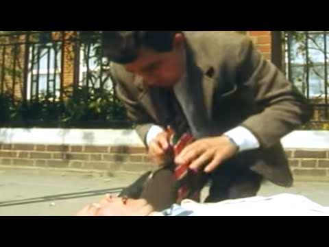 Mr.  Bean - Heart Attack & First Aid video