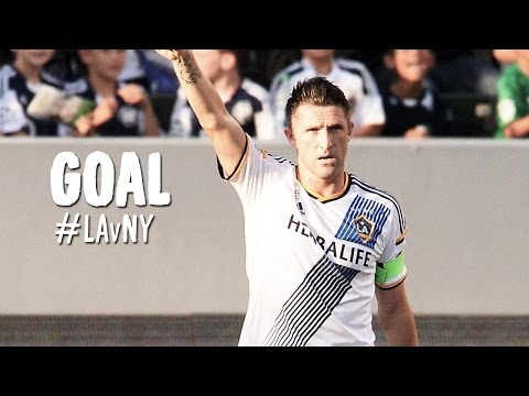 Goal: Robbie Keane Sticks With It And Puts Home His Second | La Galaxy V New York Red Bulls video