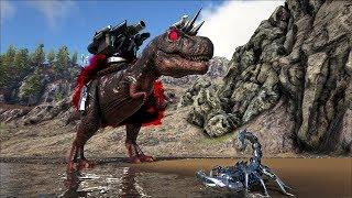 ARK SURVIVAL RAGNAROK Tập 15: T-rex Khổng lồ  và scorpion robot