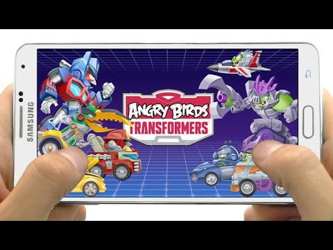 Increible Juego Nuevo Angry Birds Transformers para Android