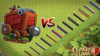 MAUERVERNICHTER gegen ALLE MAUERN! ☆ Clash of Clans ☆ CoC
