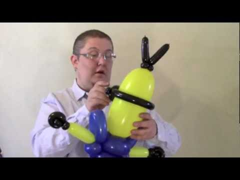 Minion Balloon Despicable Me | ChiTwist Chicago Balloon Twister