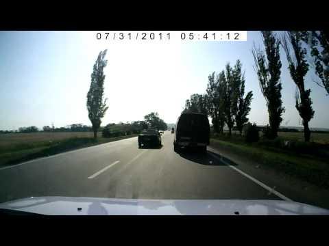 ДТП Daihatsu Materia vs Renault Trafic