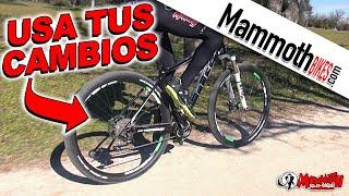 Cómo usar los cambios de la bicicleta correctamente. Curso de conducción de bicicleta #7