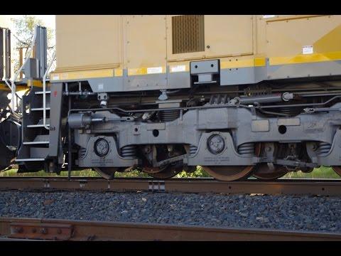 Broken Wheel on Union Pacific Locomotive in Redding, CA