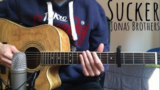 Sucker - Jonas Brothers (Acoustic Guitar Cover)