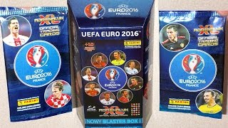 Part 7: NEW 10 Limited Edition Cards in Blaster Box UEFA EURO 2016 France Panini NEW