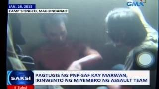 Saksi: Kumpirmadong napatay ng PNP-SAF si Marwan, batay sa DNA testing ng FBI
