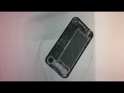 Apple iPhone 4 - X-ray - take a look inside