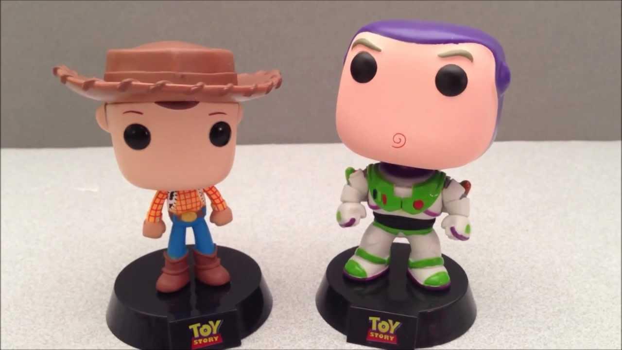 Disney Pixar Toy Story Woody Funko Pop Bobblehead Video