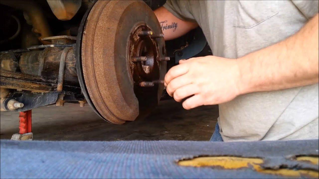 2007 chevy colorado lt rear brakes pt 1 of 3