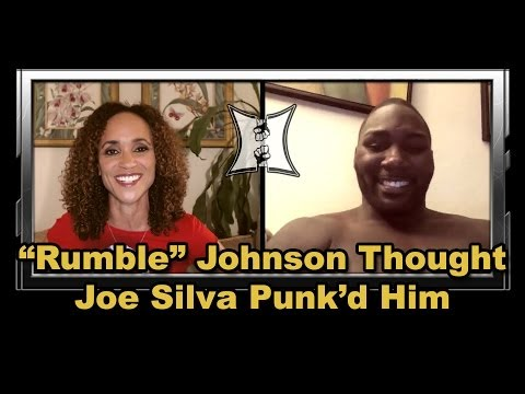UFC 172s Anthony Rumble Johnson on Return Fight With Phil Davis Getting Punkd By Joe Silva