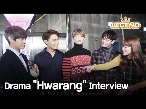 "Drama ""Hwarang"" Interview [Entertainment Weekly / 2016.12.05]"