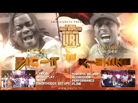 Smack / URL Presents Big-T vs K-Shine (Rap Battle)