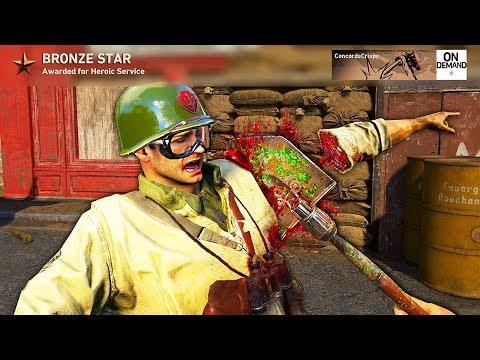 Call of Duty WW2 - Crispy Killcams #1 (Epic Trickshots, Funny Fails, Care Package Trap!)