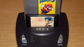 Attack of the Famiclones HD: Gen-X Review Part 1: System Overview