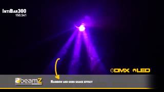 BeamZ Professional IntiBar300 Barrel 30W LED DMX with Gobos 150.541