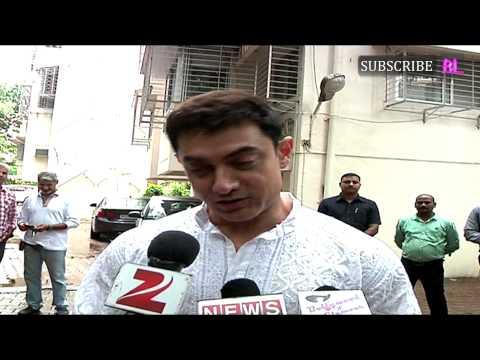 Aamir Khan Celebrating EID