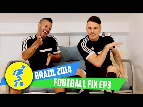F2 Freestyler's Football Fix Ep3 - Suarez biting!