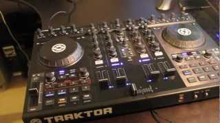 Review - NI Traktor Kontrol S4 DJ Controller