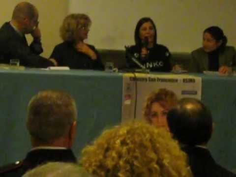 ENRICA BONACCORTI PRESENTA L'UOMO IMMOBILE-OSIMO 3.12.2011