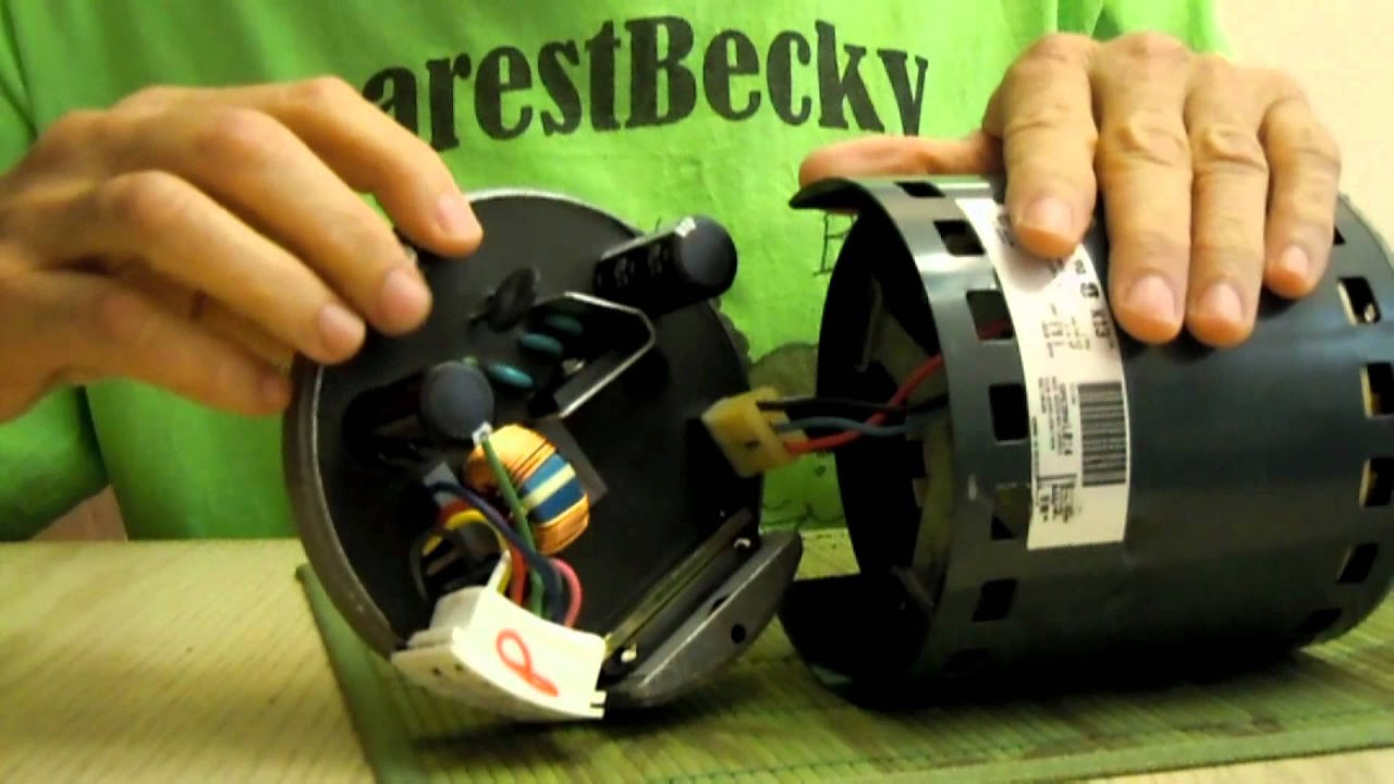 HVAC ECM motors 1 - YouTube