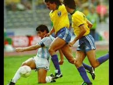 Argentina - Brazil 1990 Italy World Cup