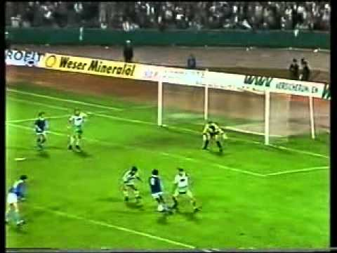 Вердер - Черноморец. КУЕФА-1985/86