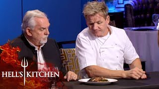 John Ratzenberger & Gordon Ramsay Judge Food | Hell's Kitchen